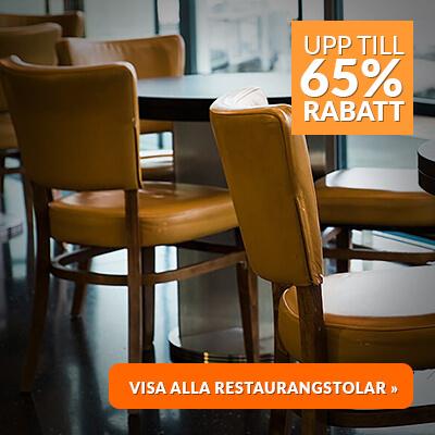 65% rabatt på restaurangstolar